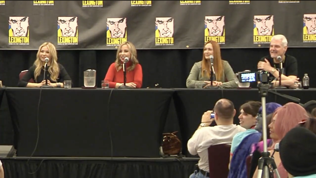 I had a blast with my OG PPG cast at the Lexington Comic Con!