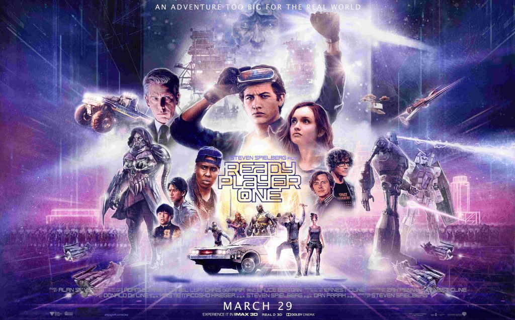 "Go see ""Ready Player One"", I'm in it!"